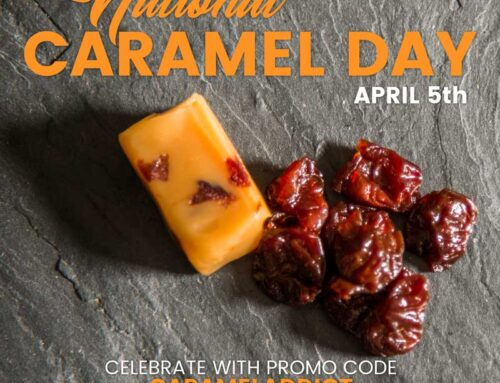 April 5th is National Caramel Day!